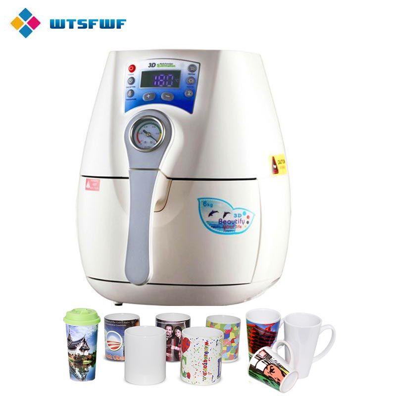 Wtsfwf Günstige ST-1520 3D MINI Sublimation Wärme Drücken Drucker 3D MINI Vakuum Hitze Presse Maschine für Becher