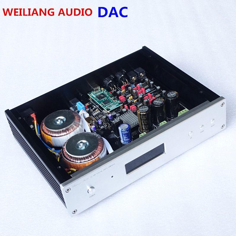 ES9038 ES9028PRO ES9018 DAC audio decoder Amanero usb-schnittstelle Unterstützung DSD koaxial optische mit Fernbedienung Schild usb-kabel