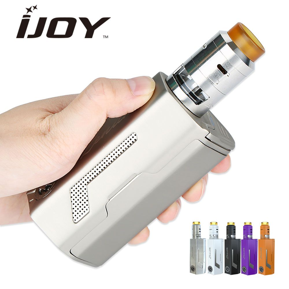 Original 300W IJOY MAXO Zenith VW Vape Kit Kit with RDTA 5S Tank 2.6ml Capacity & Electronic cigarette Maxo Zenith 300W Kit