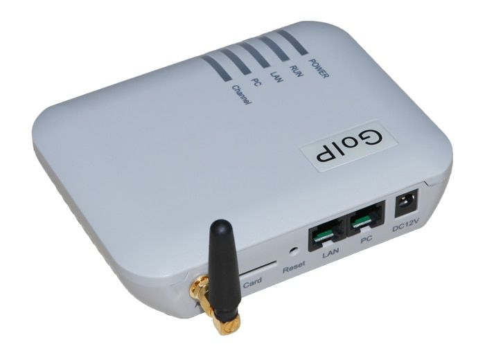 GOIP 1 Chip GSM Gateway (IMEI Change, 1 SIM Card, SIP & H.323, VPN PPTP).SMS GSM VOIP Gateway - Promotion