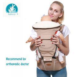 Gabesy portador de bebé ergonómico Hipseat para el recién nacido y prevenir o-tipo piernas sling bebé canguros
