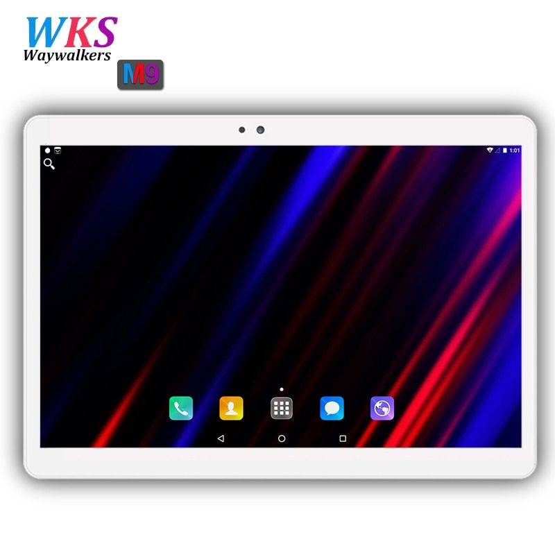 2018 New 10 inch Octa Core 3G/4G Tablet pc 4GB RAM 64GB ROM <font><b>1920</b></font>*1200 Dual Cameras Android 7.0 Tablets 10.1 inch Free Shipping