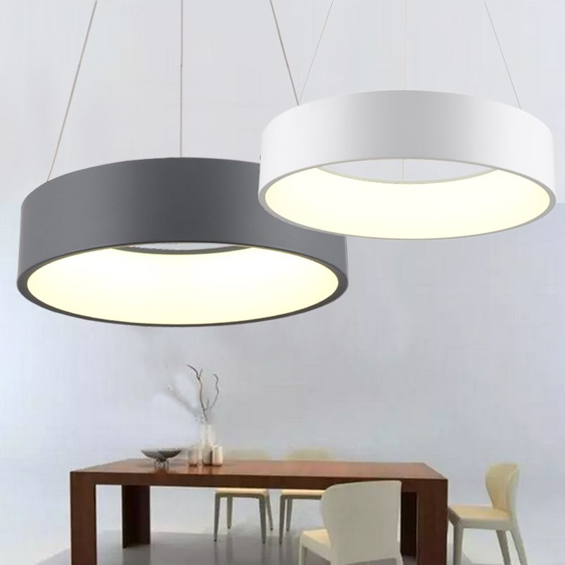 600mm 36W Modern fashion circle hanging lamp dining room living room pendant lamp bedroom suspend light led chandelier