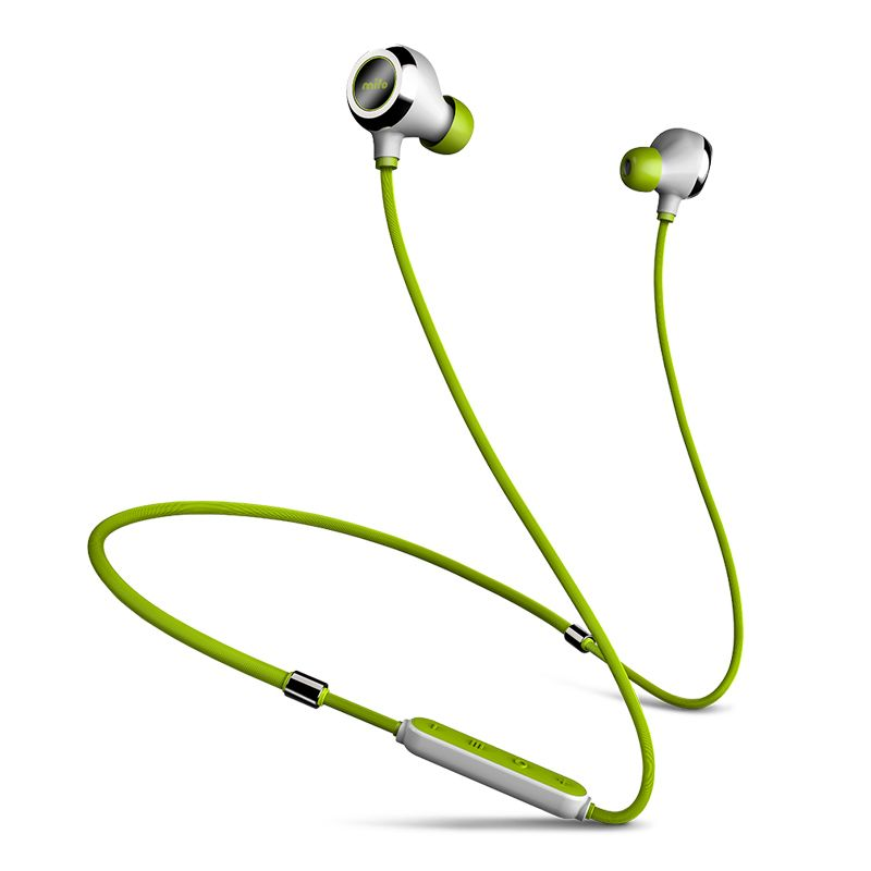 Mifo i6 Magnetic Neckband Stereo Headphone Music Bluetooth Earphone Wireless Workout Sport HiFi Earbuds Magnet Attracs Charging
