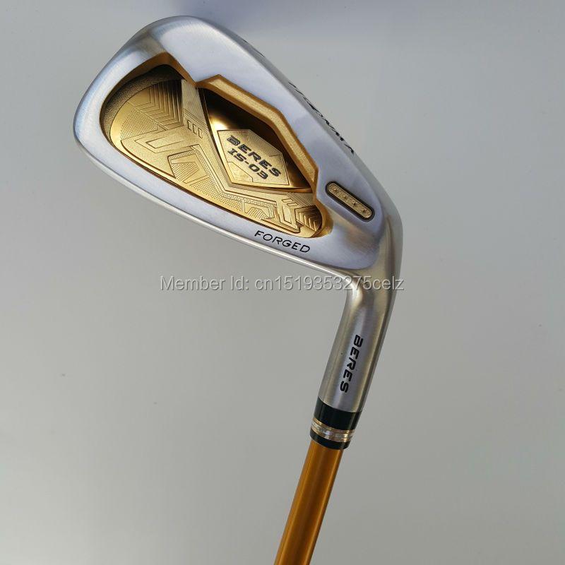 Golf Clubs honma s-03 4 star GOLF irons clubs set 4-11Sw.Aw Golf iron club Graphite Golf shaft R or S flex Free shipping