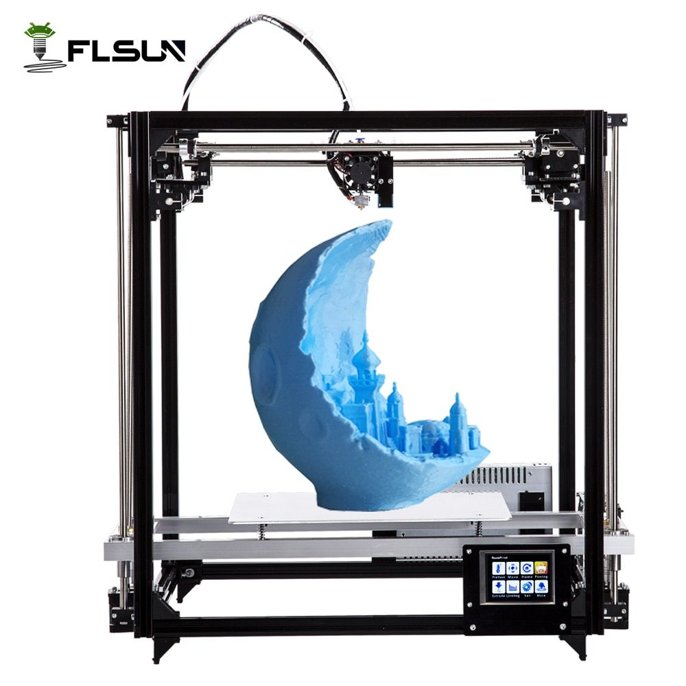 Ship From Russian Large Printing Area 260*260*350mm 3D Printer kit with Auto Leveling and Heated bed Two rolls filament