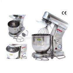 10L 220 V-240 V comercial hogar amasar masa mezclador batidor de huevo mezclador auxiliar de cocina acero inoxidable