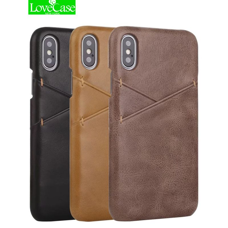 LoveCase Latest luxury Genuine Leather Back Cover Case For iphone X Luxury Crocodile Skin <font><b>Pattern</b></font> Hard Shell Cover For iphone X