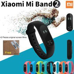 Original Xiao mi banda 2 Smart Band pulsera inteligente pulsera mi banda 2 Fitness Tracker Smartband ritmo cardíaco xio mi # B7