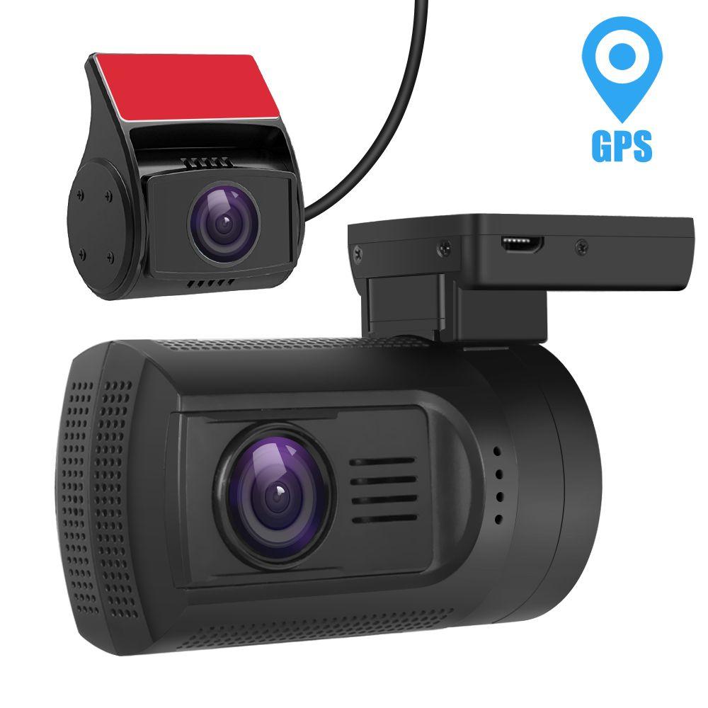 MALUOKASA Dual Lens Car Camera Novatek 96663 Car DVR Front Rear Full HD 1080P Auto Dash Cam WIFI WDR Video Recorder GPS Tracker
