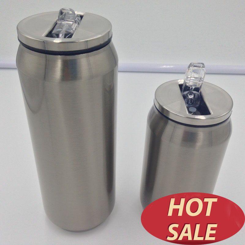 Thermos tasses à café acier inoxydable termos tasse à café tasse garrafa termica infantil 12 horas termo gobelet avec couvercle et canette de paille