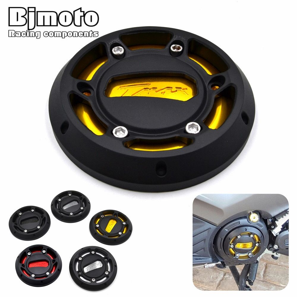 EPC-YA002 Motorcycle TMAX Engine Stator Cover CNC Engine Protective Cover Protector For Yamaha T-max 530 12-16 MAX 500 08-11