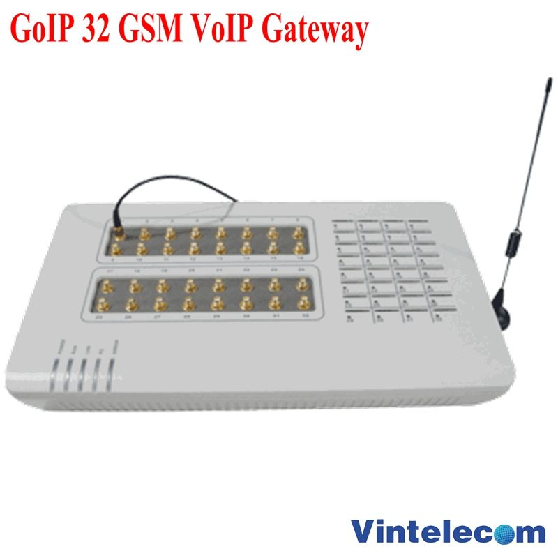 GoIP 32 GSM VOIP Gateway/GoIP32 for IP PBX / Router / Support bulk SMS and IMEI changeable- special price