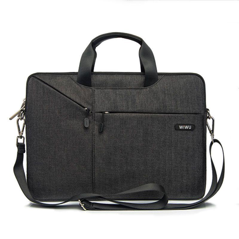 WIWU Laptop Bag 11 12 13 14 15 inch Nylon Notebook Bag for MacBook Pro 15 Pro 13 Fashion Women Men's Bag for MacBook Air 13 Case