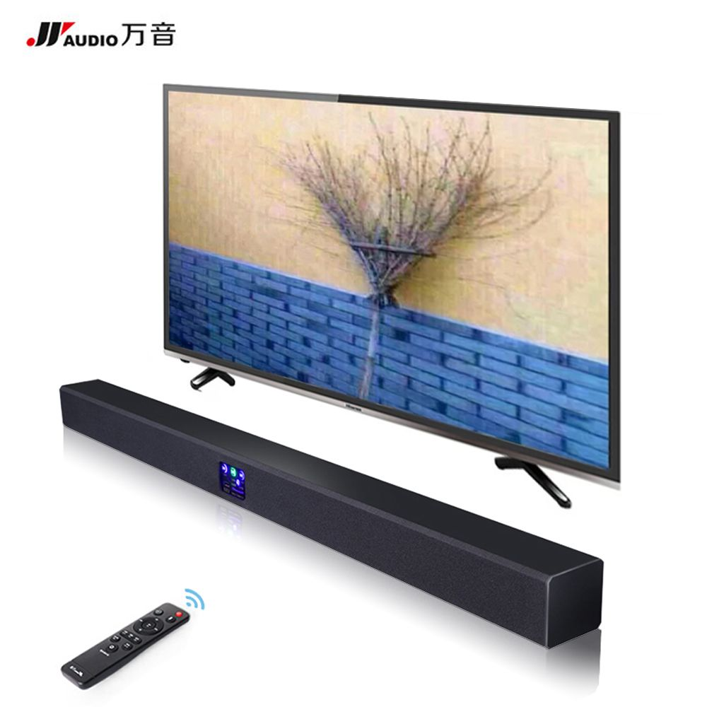 JY AUDIO Wireless Bluetooth Soundbar TV Column Dual Subwoofer Speaker Home Theater DSP Surround Sound System Hang Wall 3D Stereo