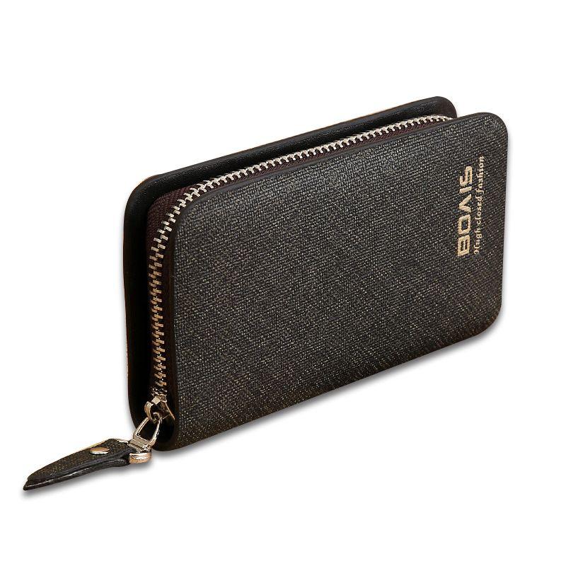 Business Housekeeper Keys Holder Car Key Wallet Keysmart Leather Wallet Keychain Key Pouch Housekeeper Leather Keys Holders