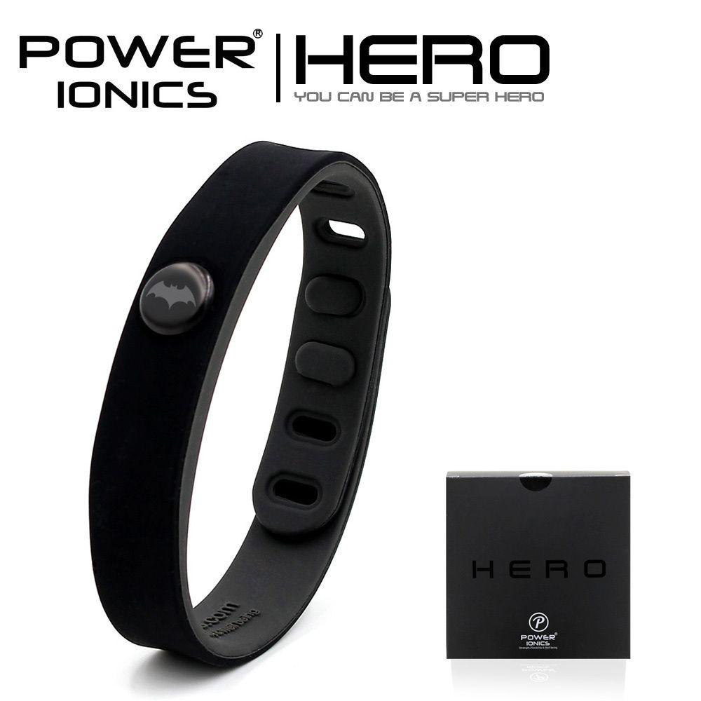 Puissance Ionics Batman IDÉE BANDE 3000 ions Sport Étanche Bracelet En Titane Bracelet Équilibre Corps