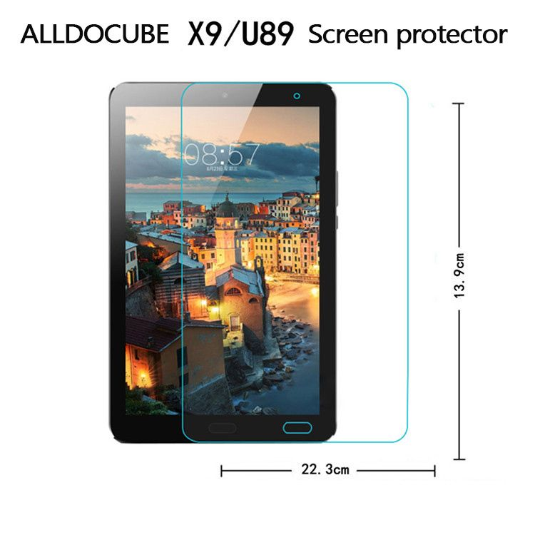 In Stock for cube freer x9/u89 Glass Films Screen Protector 8.9 inch Tempered Glass Film