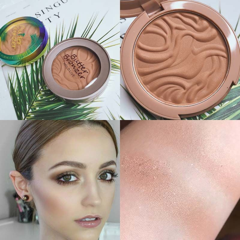 Shimmer Surligneur Poudre Palette Le Contour Du Visage Mettre En Évidence le Maquillage Visage Bronzer Surligneur Éclairer La Peau