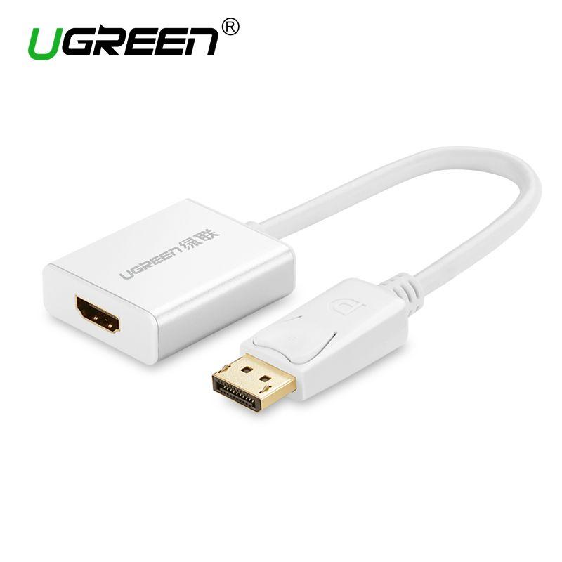 Ugreen 1080 p Displayport DP ZUM HDMI Adapter DP Stecker auf HDMI Buchse Konverter Kabel Video Audio Kabel für HDTV projektor