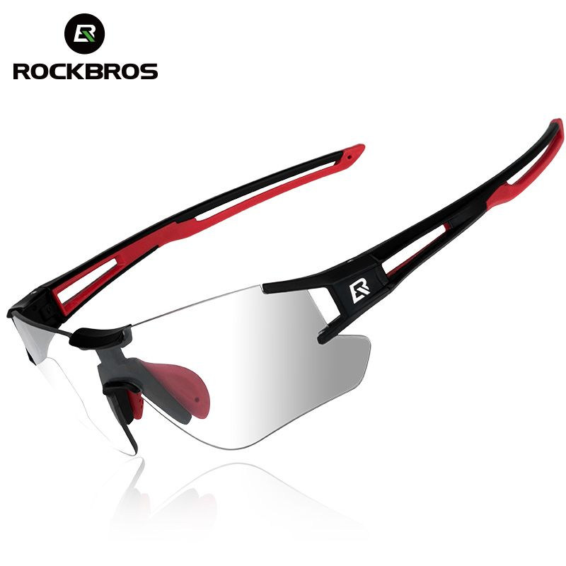 ROCKBROS Photochromic Cycling Bike Bicycle Glasses Sports Men's Sunglasses MTB Bike Bicycle Eyewear Equipment Protection Goggles