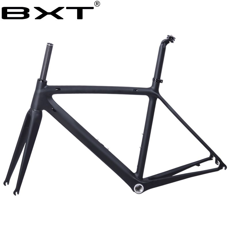 2018 new BXT T800 carbon road bike frame cycling bicycle frameset super light 980g Di2/mechanical racing carbon road frame