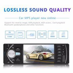 DVDCar Radio de coche 1 din 4022d Radio de coche Auto Audio estéreo FM Bluetooth 2,0 cámara de visión trasera usb aux volante rueda de Control remoto