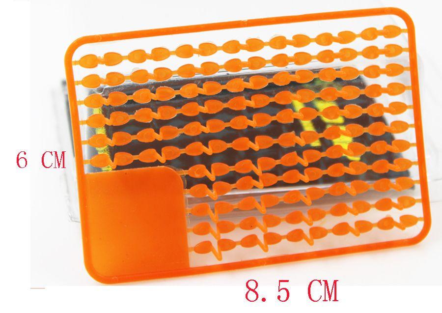 20 x Carpe De Pêche Plate-Forme des Cheveux Bouillette Appât dumbell s'arrête Bouillette v stoper