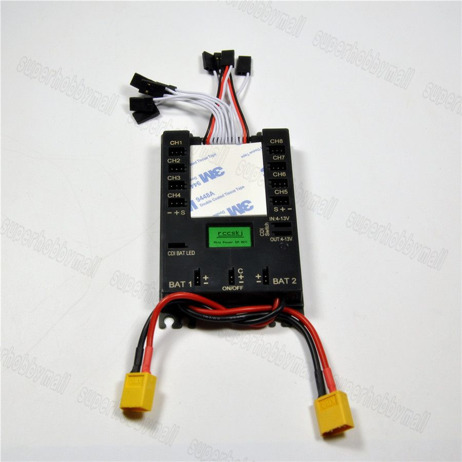 Mini Power DP Bec Servo Section Board 8 channels input 16 channels output