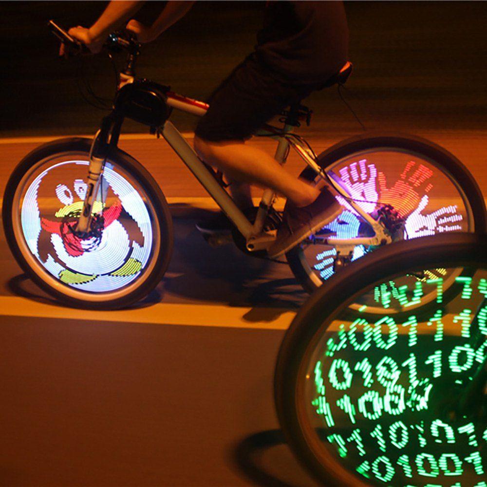 26 дюймов Колеса Велосипеда Шин DIY Программируемый Велосипед Велоспорт Водонепроницаемый Красочные Изменение Видео Картинки Велосипед Кол...