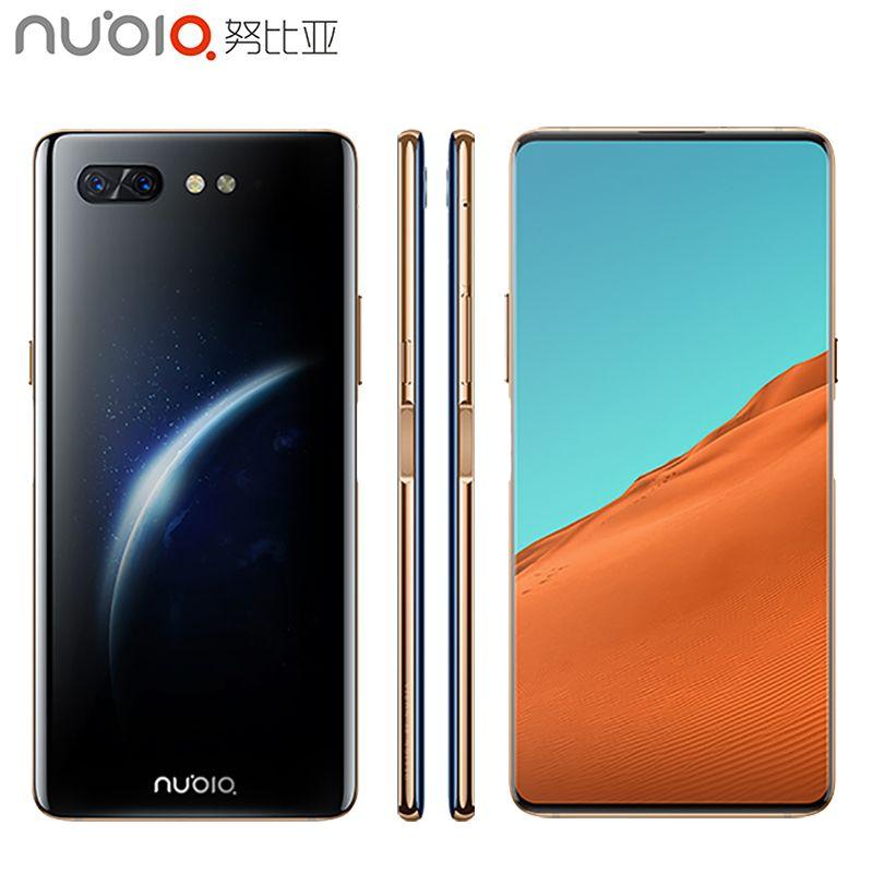 Original Nubia X Handy 6,26 zoll 8 GB RAM 256 GB ROM Snapdragon 845 Octa-core Android 8.1 Dual kamera 3800 mAh Smartphone