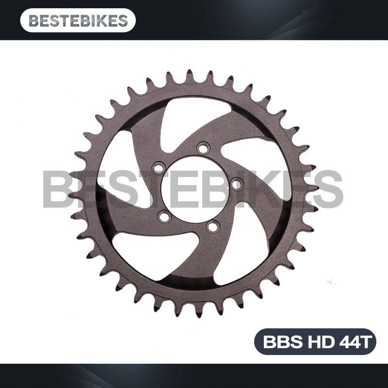 Bestebikes BBS HD 1000W exclusive motor chain drop protector 44T