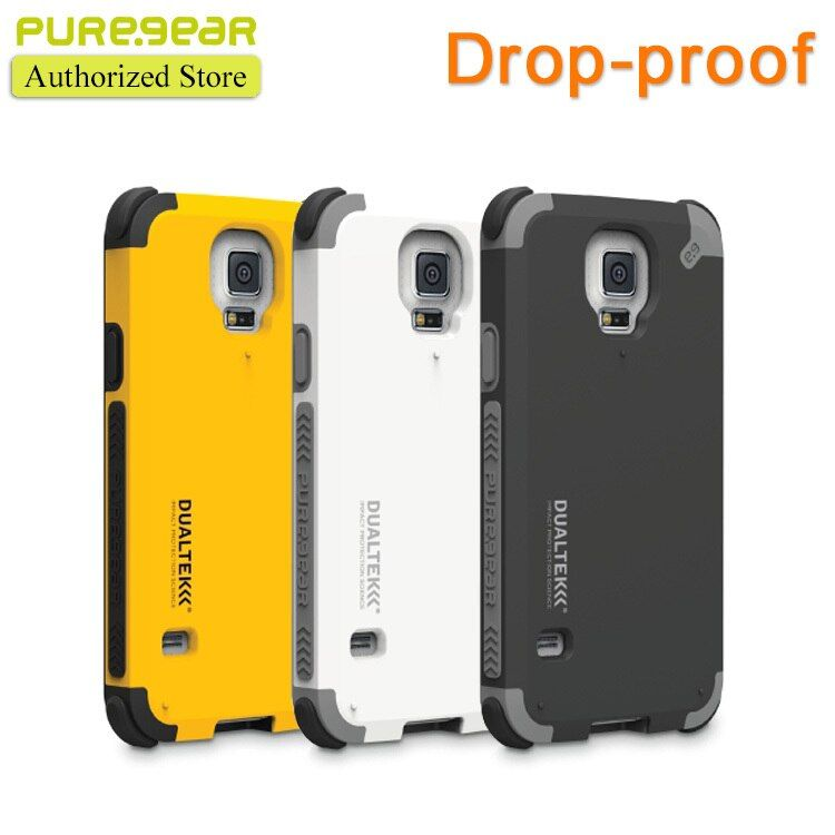 Puregear Original Outdoor Anti Shock DualTek Extreme Shock Case for Samsung Galaxy S5 S6 S7 with Retail Packaging