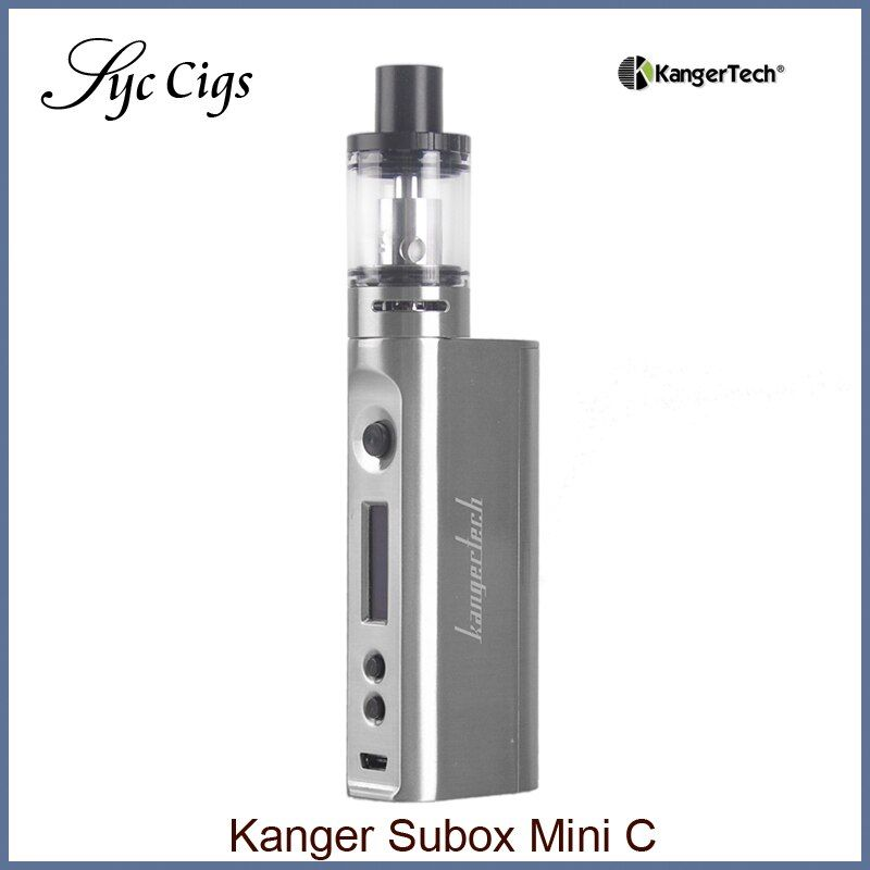 Original KangerTech Subox Mini C Starter Kit 50W KBOX Box Mod vape Protank 5 Atomizer SSOCC Vaporizer e electronic cigarette