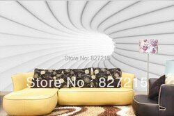3D-0502 fantastic white circle for wall decoration to extend wall space available for ceiling decoration with ceiling film
