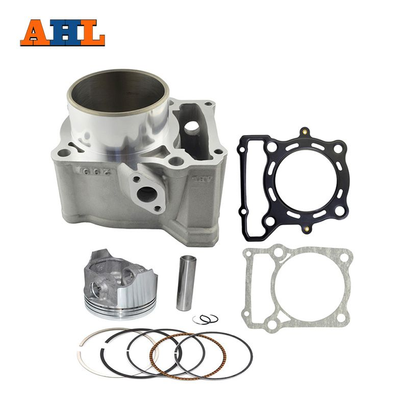 AHL 78mm Kit de cylindre d'air de moto assis pour Kawasaki KLX250 1993-2014 KLX300 1996-2007 bloc & Piston & tête/Kit de joint de Base