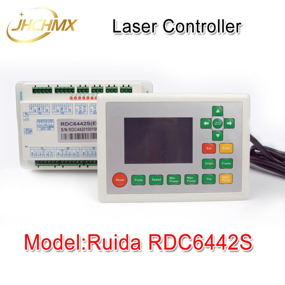 Free Shipping Ruida RDC6442S Co2 Laser Spare Parts Laser Machine Controler Co2 Laser Controller System