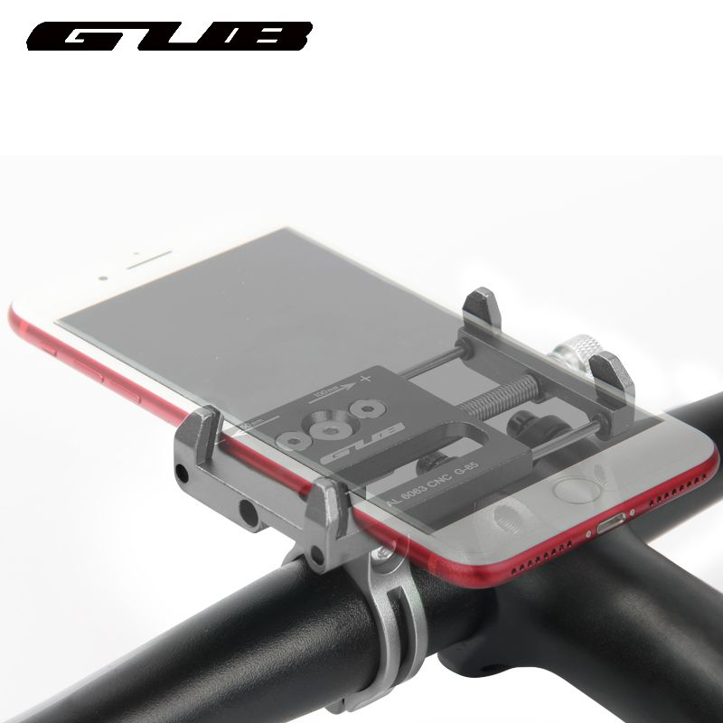 GUB Aluminum universal adjustable Bike Bicycle Holder Motorcycle handlebar Phone Mount Handlebar Extender Phone Holder