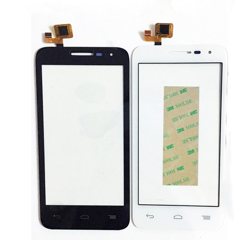 New Front Panel Touchscreen For Alcatel One Touch POP D5 5038 5038D 5038E 5038X OT5038 Touch Screen Digitizer Glass+3M Sticker