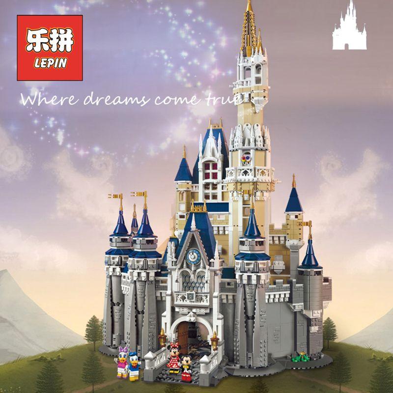 DHL Lepin 16008 City Modern Building Kits the Cinderella Princess Castle Blocks Kid Toy Legoinglys Friends Gift Compatible 71040