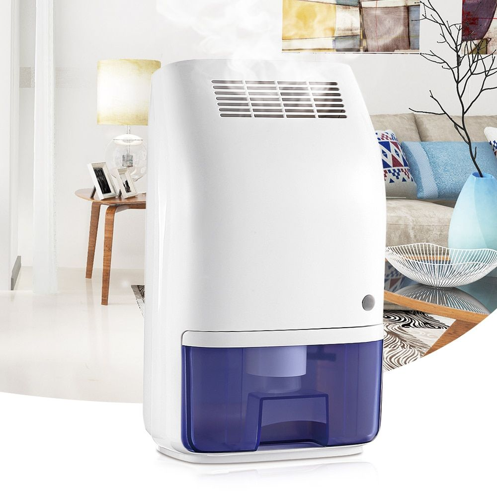 Invitop T8 700ml Home Air Dehumidifier Semiconductor Desiccant Moisture Absorber Mini Air Dryer Electric Cooling Machine US Plug