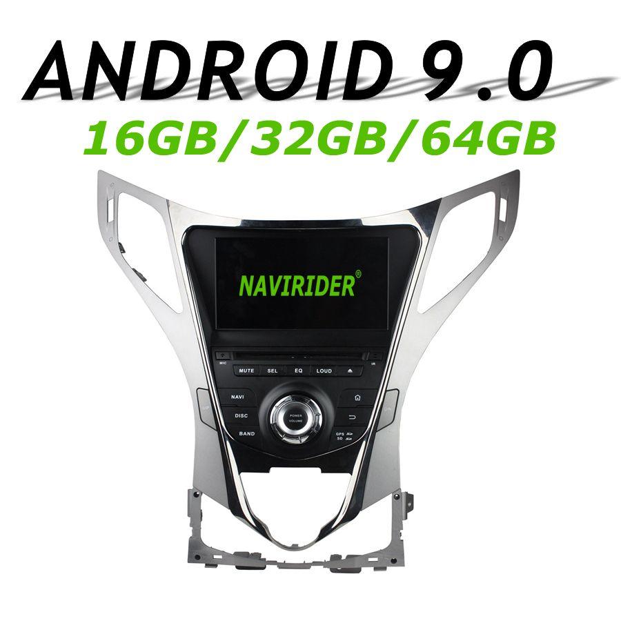 Navirider GPS navigation Für Hyundai AZERA Grandeur HG touchscreen Auto DVD android 9.0 64 gb rom radio bluetooth-player stereo