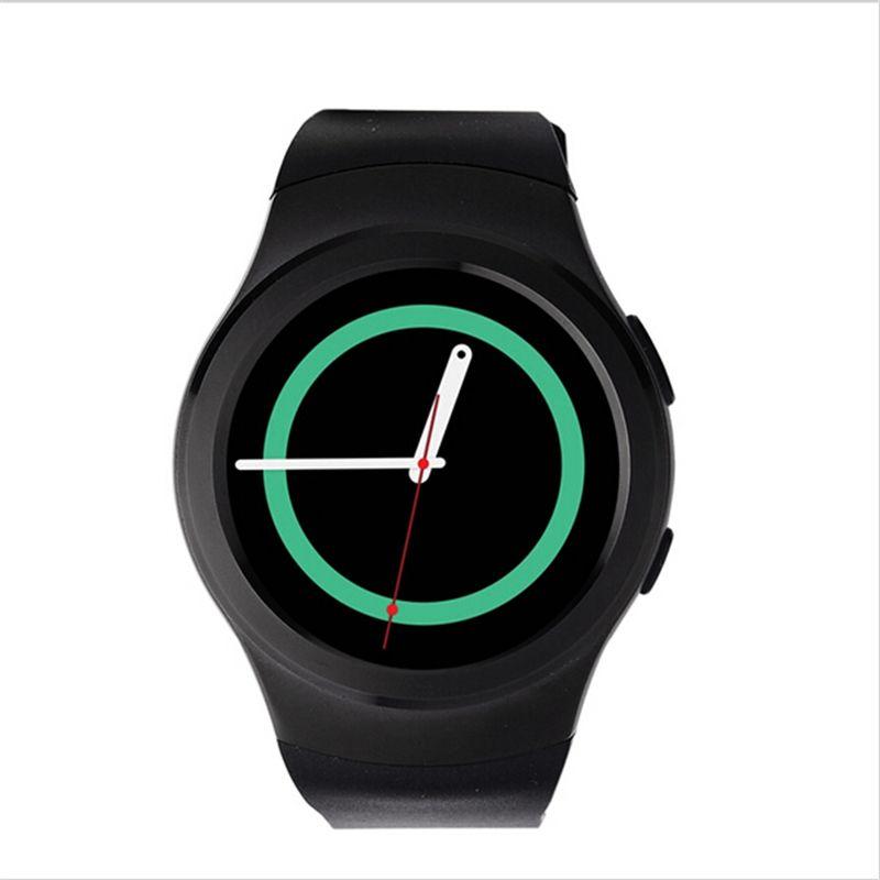 В наличии оригинальный № 1 Bluetooth Smart Watch Sport Full HD Экран sim-карта TF SmartWatch для Android и IOS Samsung Gear S2 PK x3