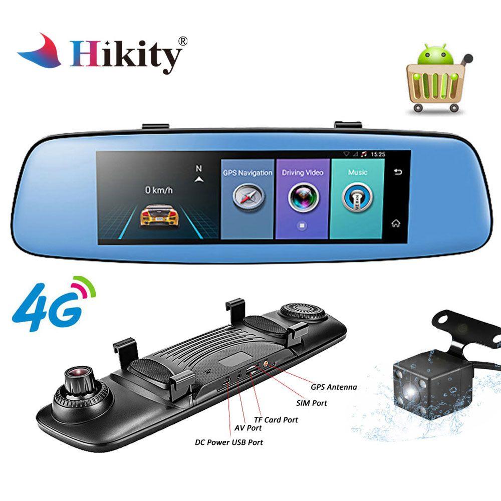 Hikity 4G ADAS Car DVR Camera Video recorder mirror 7.84