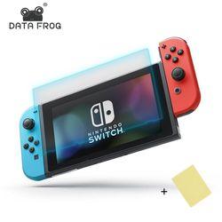 Données Grenouille Écran Protectos Anti-Scratch Housse De Protection Pour Nintendo Commutateur NS LCD Écran Protection Peau Pour Nintend Commutateur