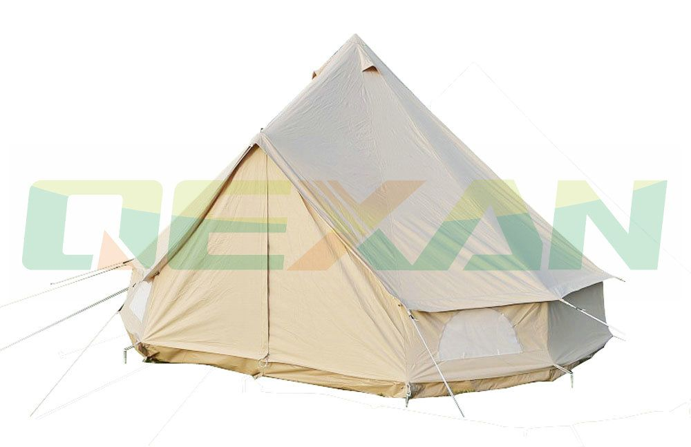 Free Shipping ! 5M Canvas bell tent Cotton winter tent wall rolled up for outdoor camping