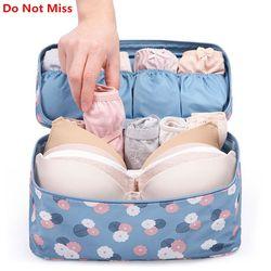 Не пропустите 2017 новая сумка для макияжа в путешествии короб для нижнего белья бюстгальтеров сумка Косметическая ежедневные поставки Сумо...