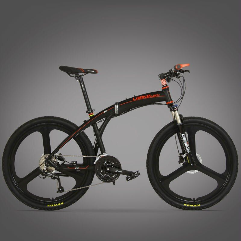 Lankeleisi P8 Mans Foldable Mountain Bike Full Suspension 17