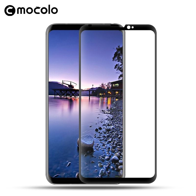 Pour LG V30 protecteur d'écran Original Mocolo couverture complète 9 H 3D film de verre trempé pour LG V30 protecteur d'écran