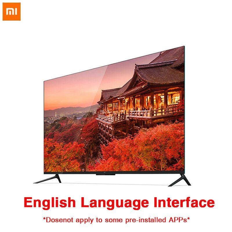 Xiaomi TV 4 55 zoll Echt 4 K Smart 4,9mm Ultra-thin-TV 2 GB + 8 GB speicher Unterstützung volle format wiedergabe Dolby sound DTS-HD